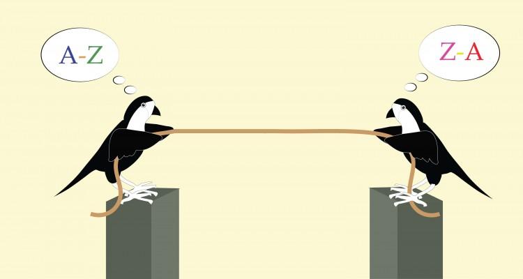 Sparrow dengan tali