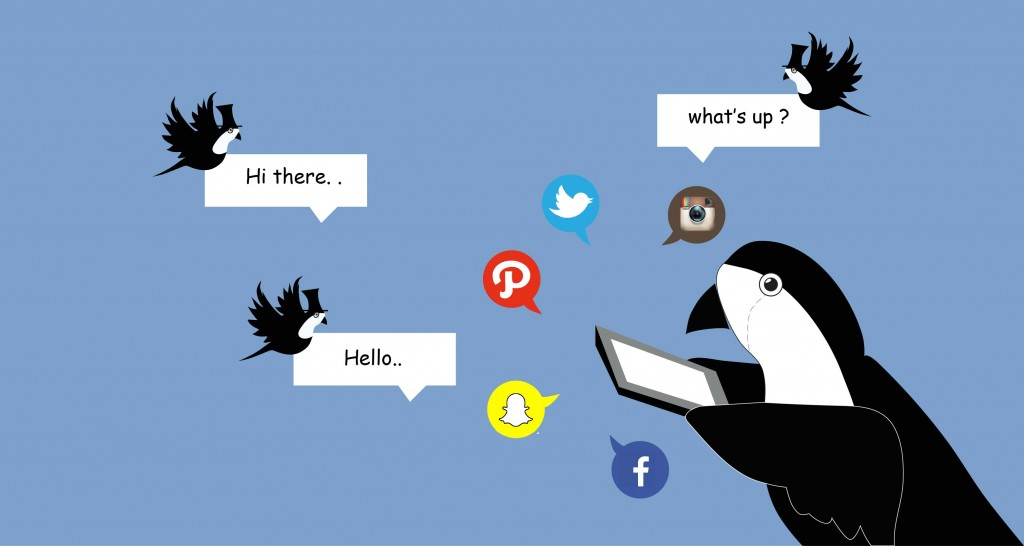 SOCIAL MEDIA sparrow