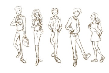Step by Step Sketch