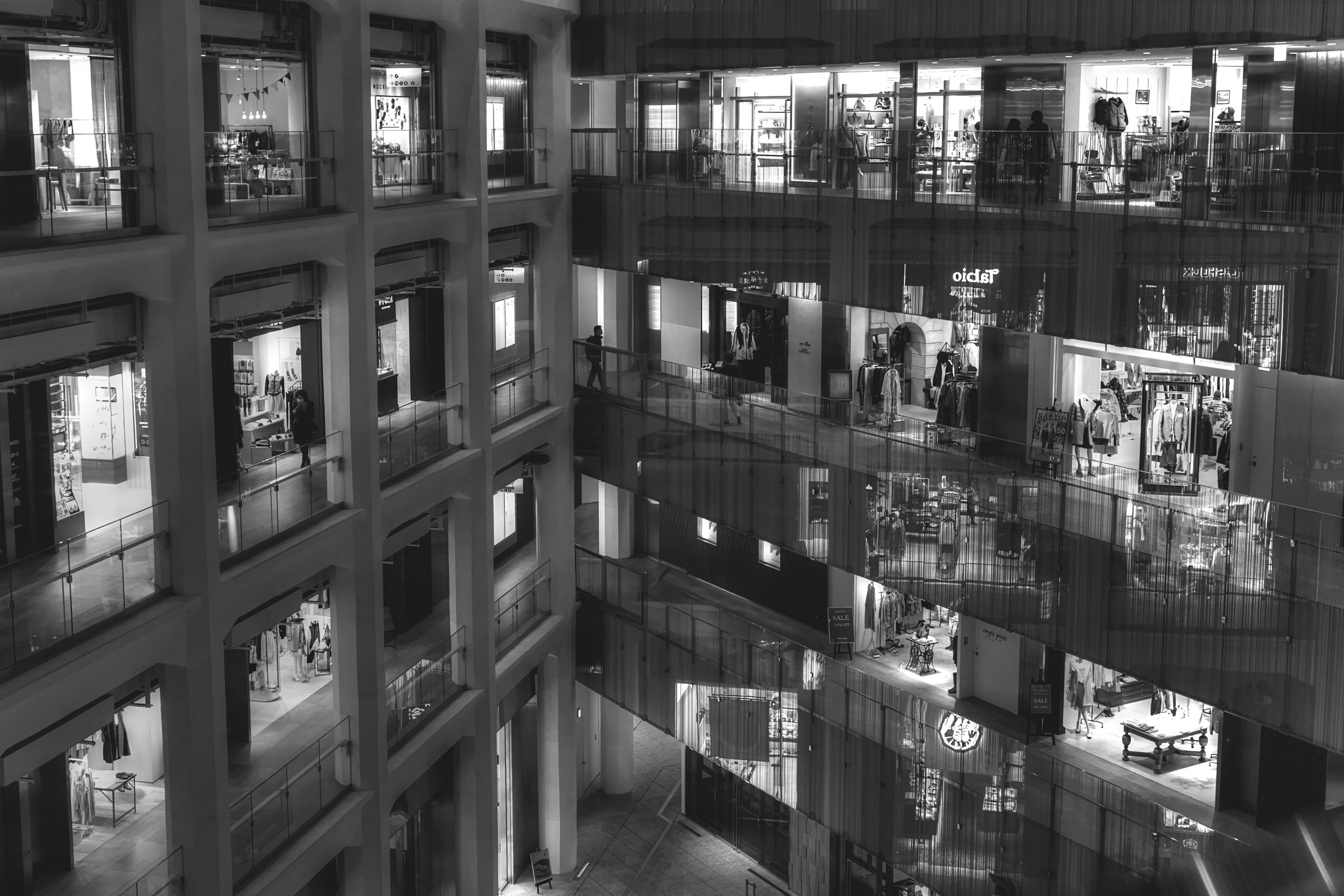 Shopping Mal. Flickr - Jimmy B.