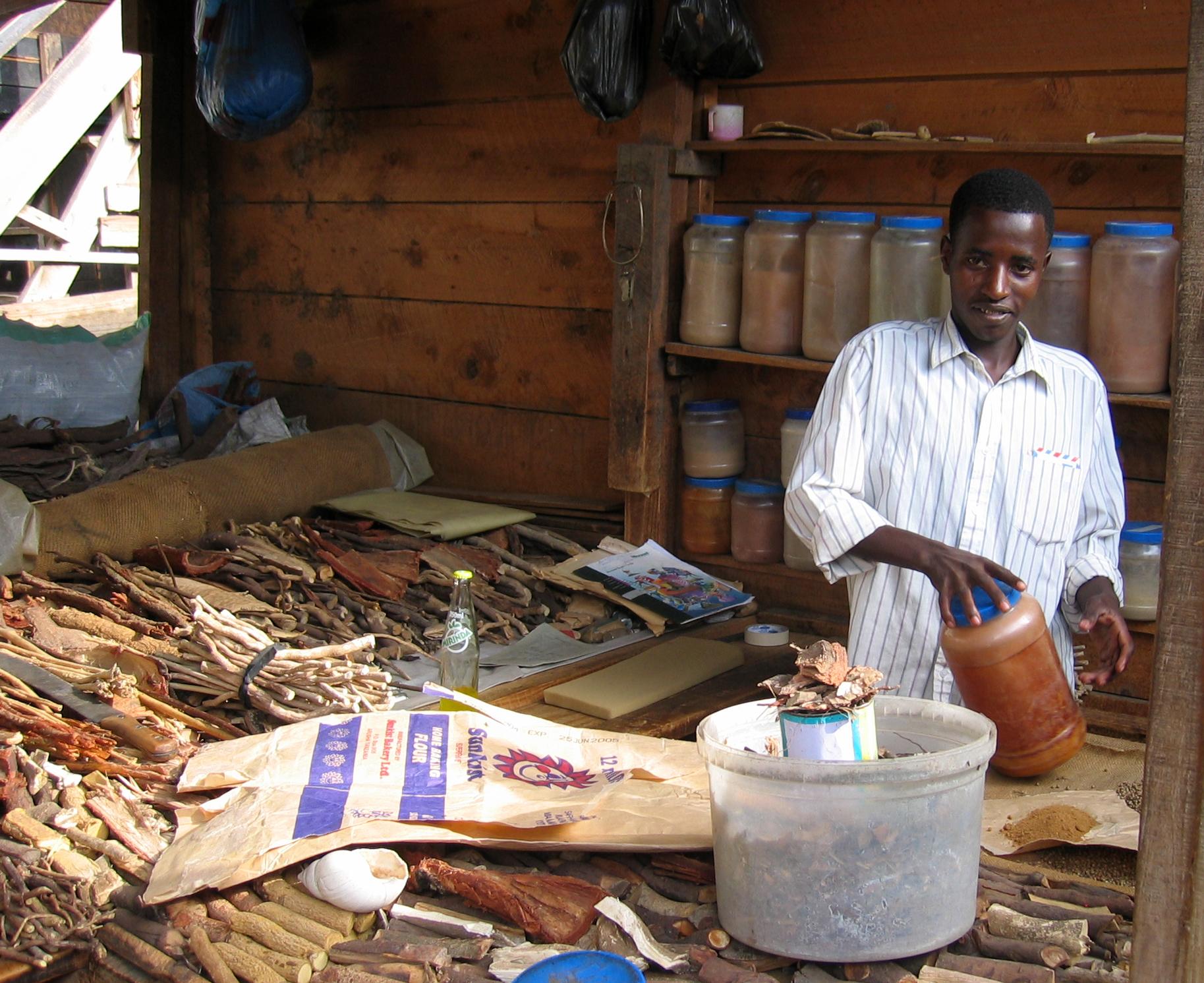 Tanzania traditional medicines market. Flickr - Neiljs.