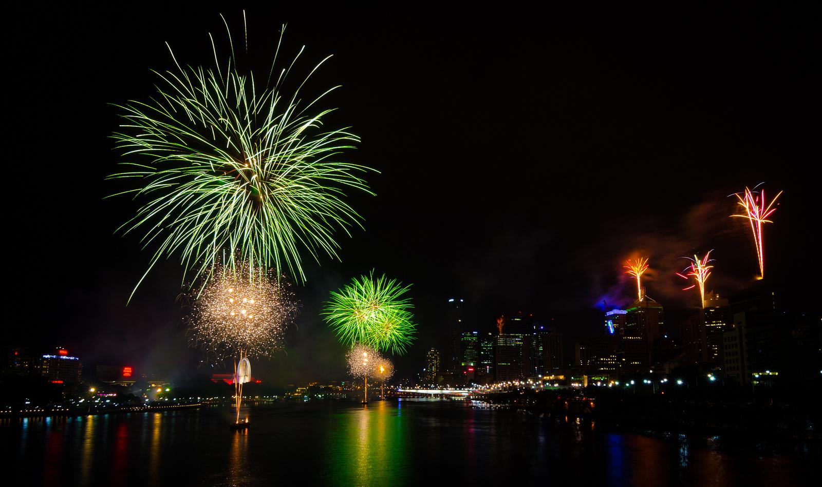 New Year in Brisbane. Flickr - James Niland.