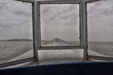 Blue Boat in Lake Tana, Ethiopia. Flickr - Rod Waddington.