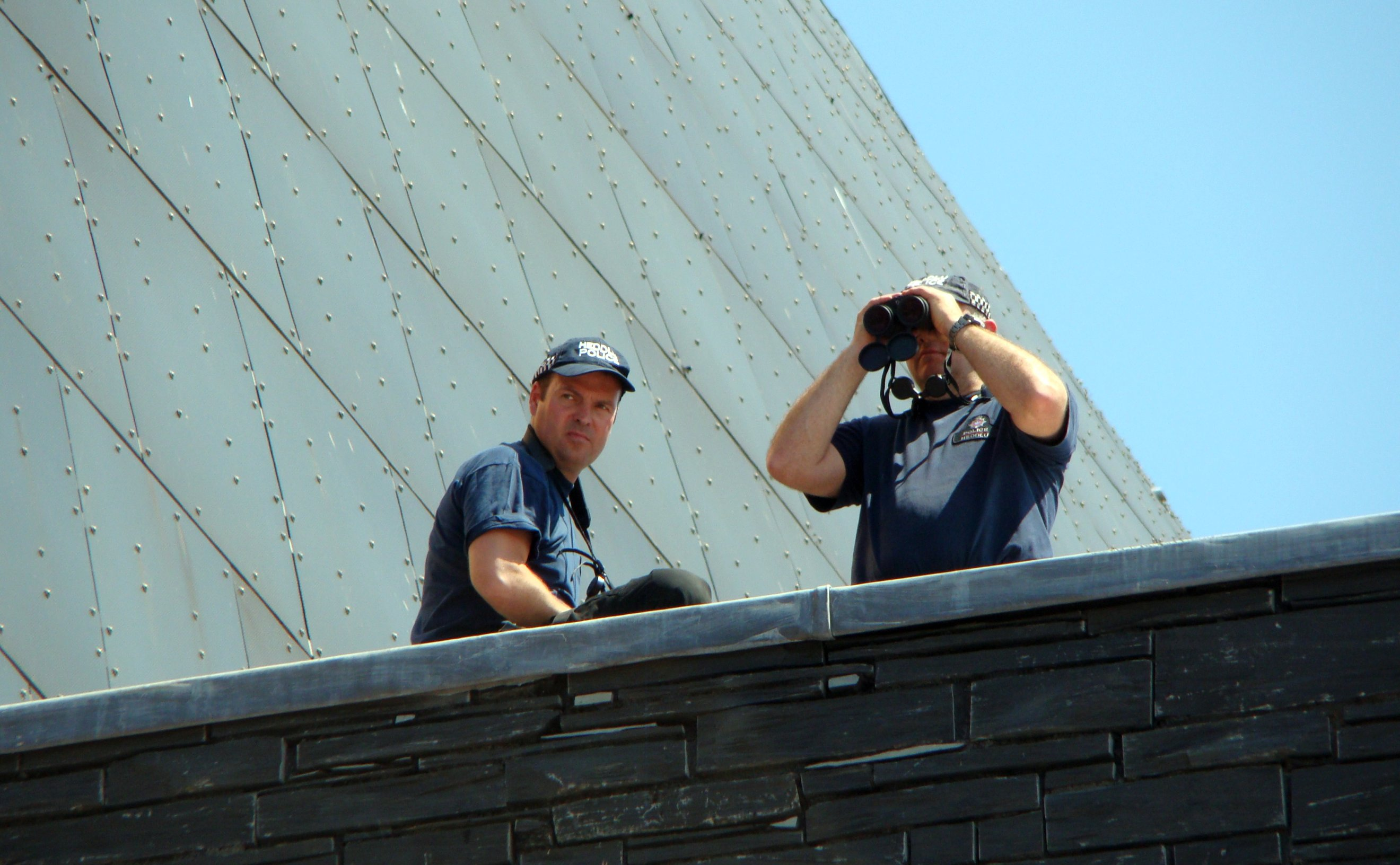 Police Spotters - Armed Forces Day Cardiff. Flickr - Jon Candy.