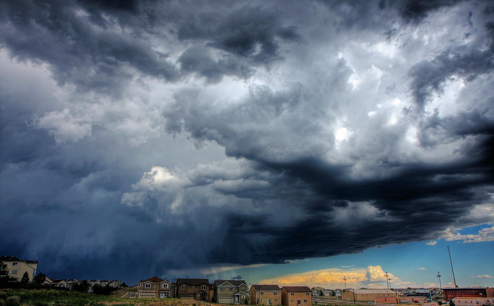 Rain Storm Colorado Springs Colorado. Flickr - David.