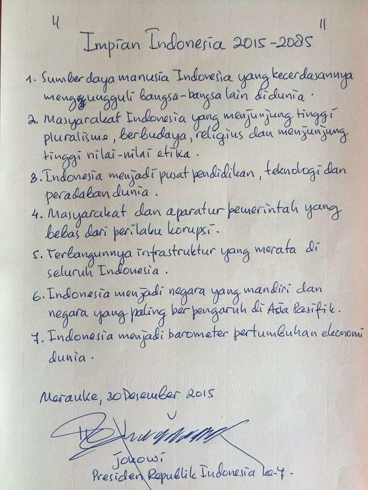 Impian Indonesia 2015 - 2085