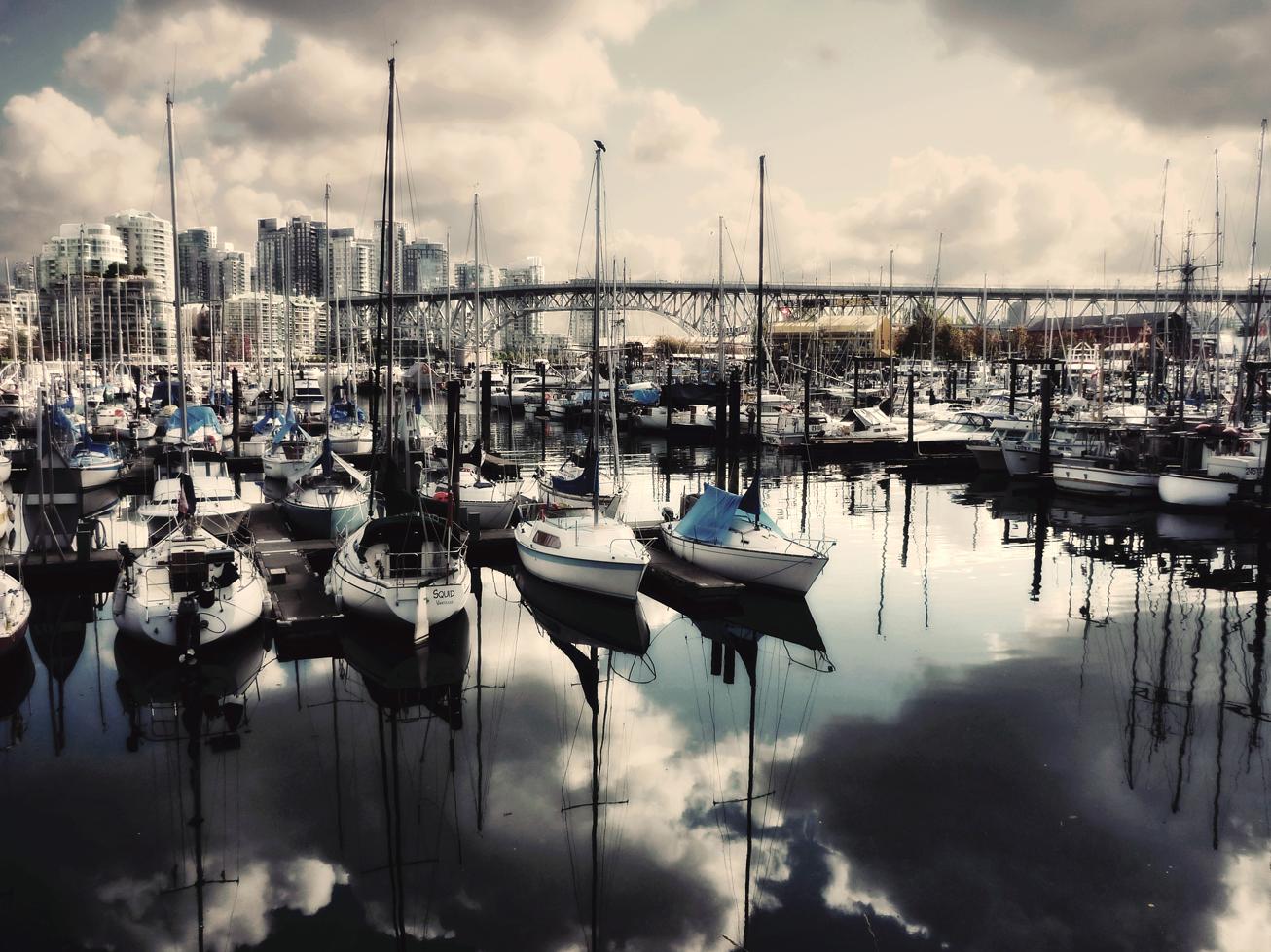 Taken in the area of Granville Island Market in Vancouver, BC. Flickr - Krystian Olszanski.