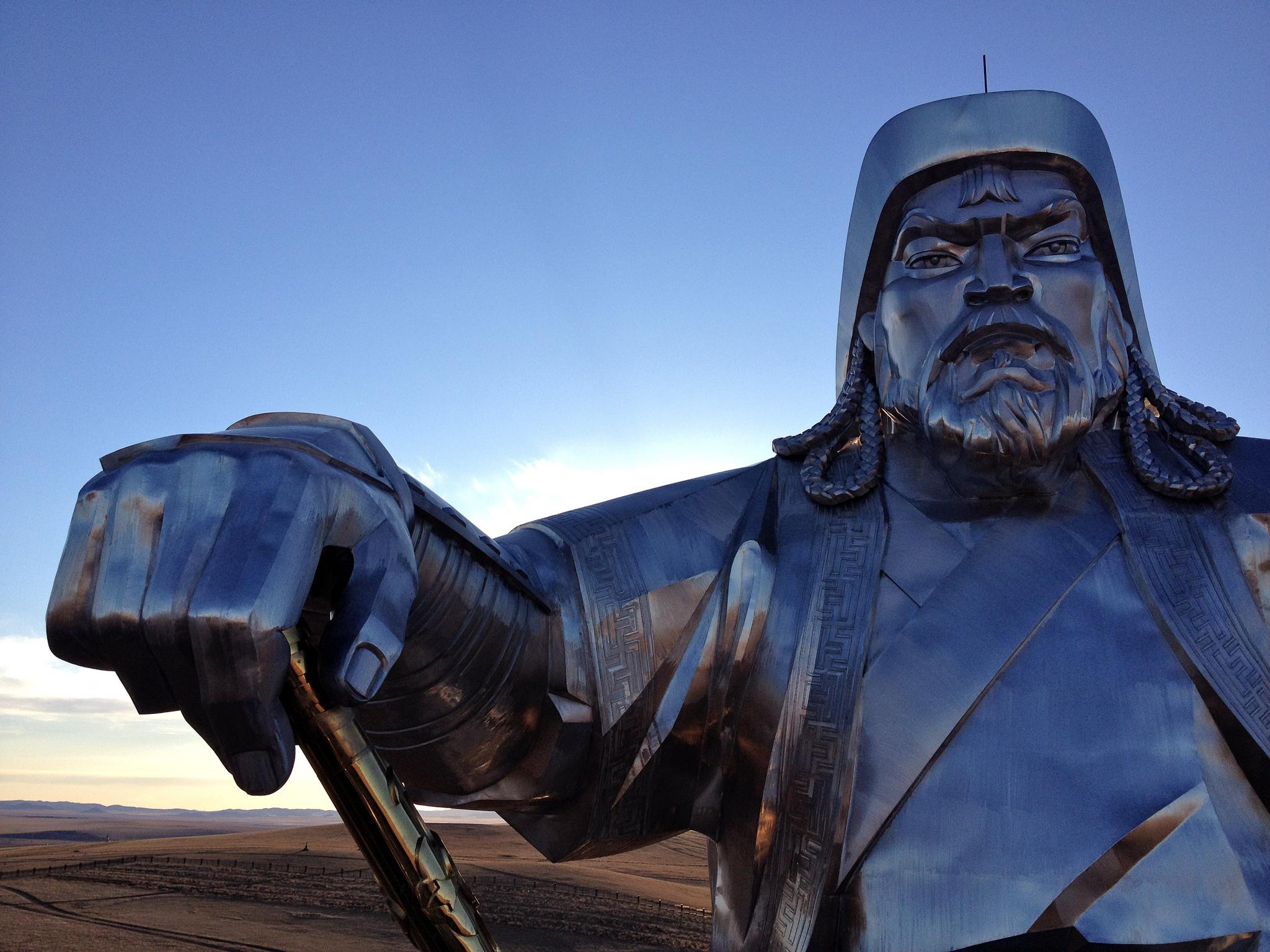 Chingghis Khan. Flickr - Chelsea Marie Hicks.