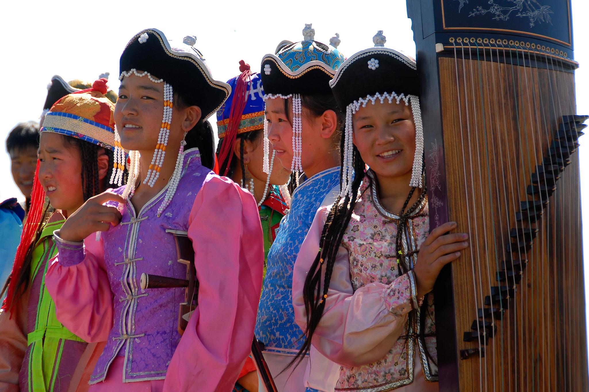 Mongolian Musicians. Flickr - Bernd Thaller.