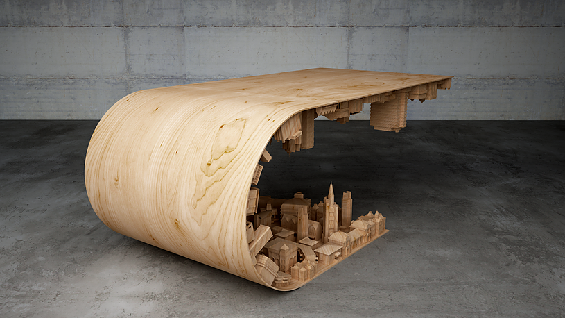 wave city coffee table 4