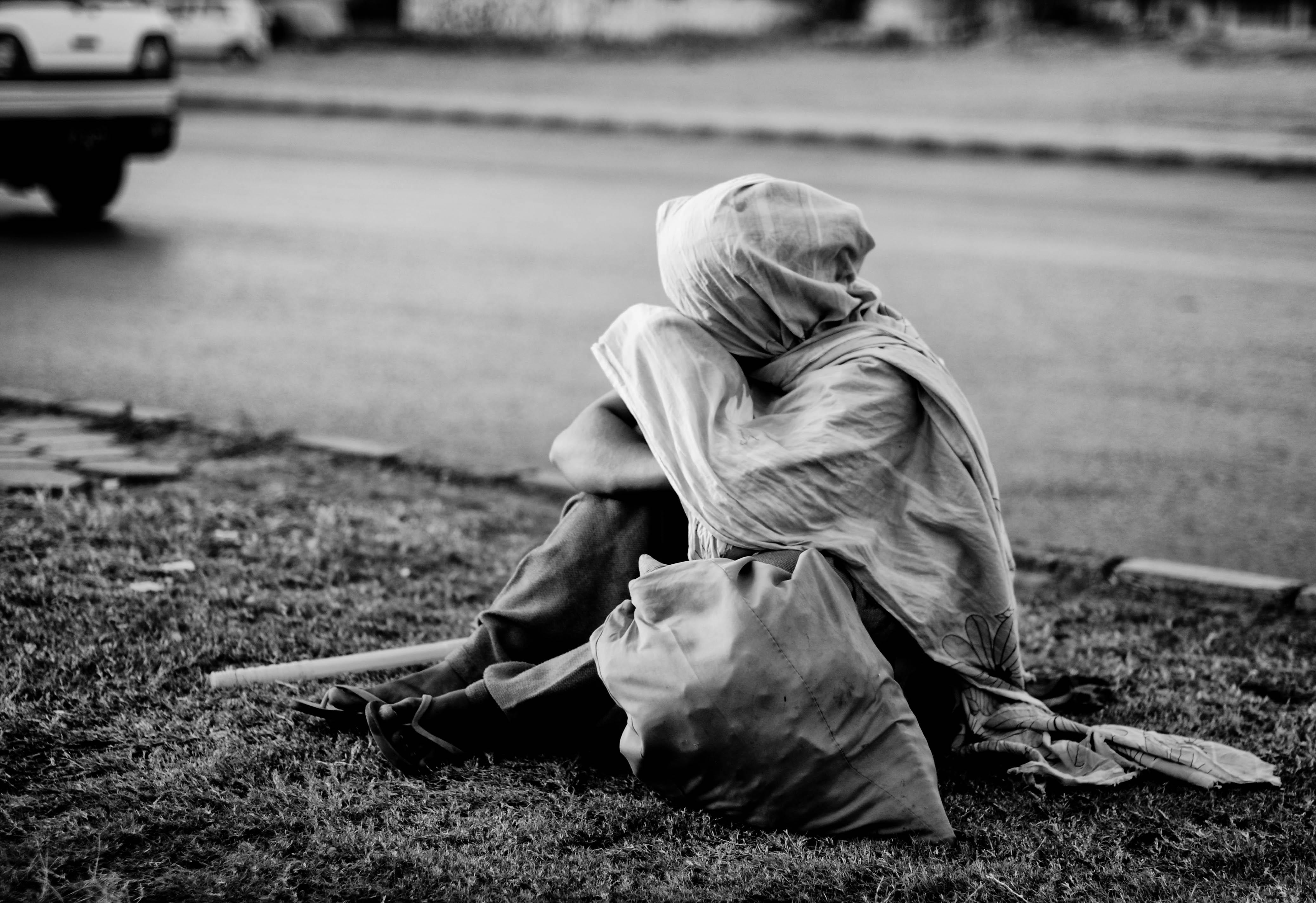 Seorang pengemis di Pakistan. Flickr - Natasha d.H.