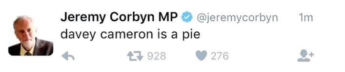 Twitter Jeremy Corbyn