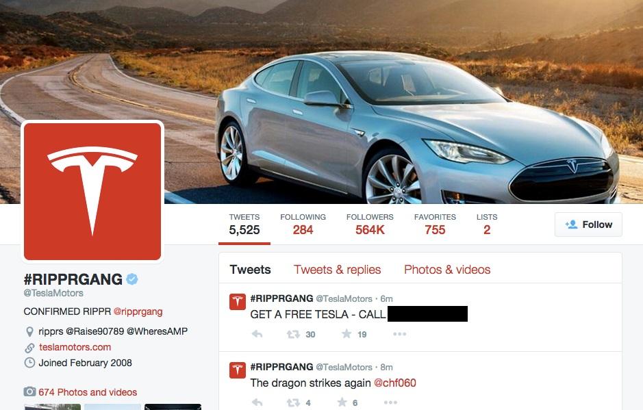 Twitter Tesla