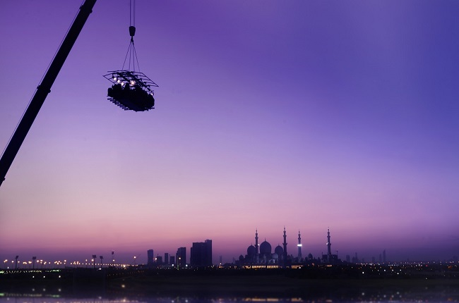 Dinner in The Sky - Abu Dhabi (UAE)