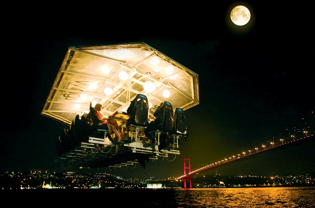 Dinner in The Sky - San Fransisco