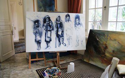 The Ambassador talks about art cover