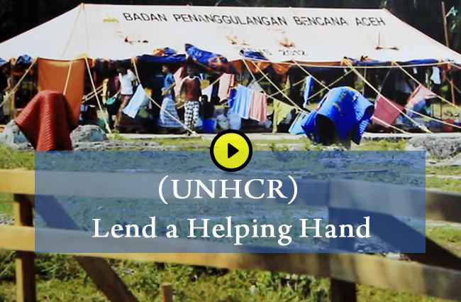 (UNHCR) Lend a Helping Hand 1