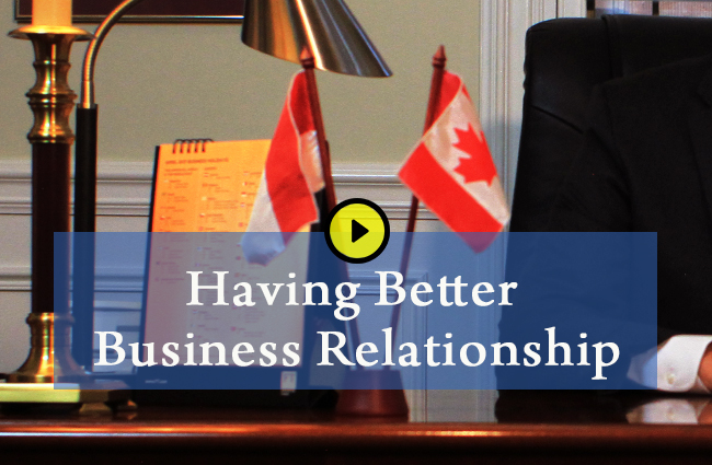 Having better business relationship